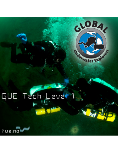 GUE Technical Diver Level 1 - Åland. Kursstart 3. juni 2019