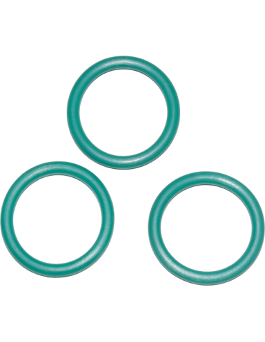 O-ring M25x2 3-pack for flaskekran