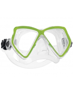 Scubapro Mini Vu maske - Transparent green