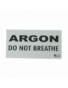 GUE 'ARGON - Do Not Breathe' decal (stk) FUE
