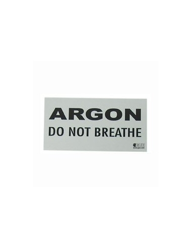 GUE 'ARGON - Do Not Breathe' decal (stk)
