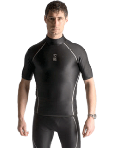 Fourth Element Thermocline Short Sleeved top - Mann FUE