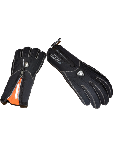 WaterProof G1 5mm 5-finger hanske FUE